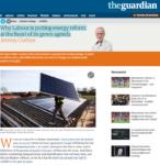 Jeremy Corbyn promote empregos para o clima